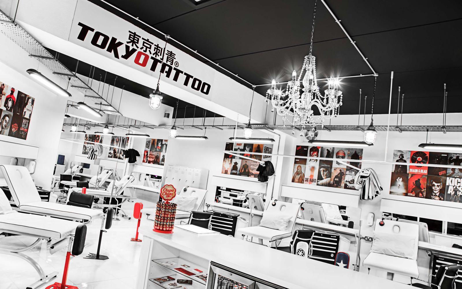 Cheltenham's Prestigious Tattoo Studio TOKYOTATTOO